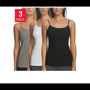 Felina Women's 3 pack tank tops